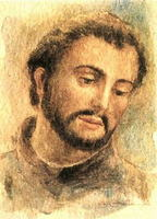 St. Francis Xavier, SJ - Painting by A. Costalonga